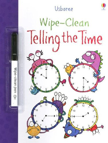 Telling the Time Wipe Clean