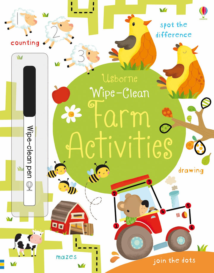 Farm Activities Wipe Clean