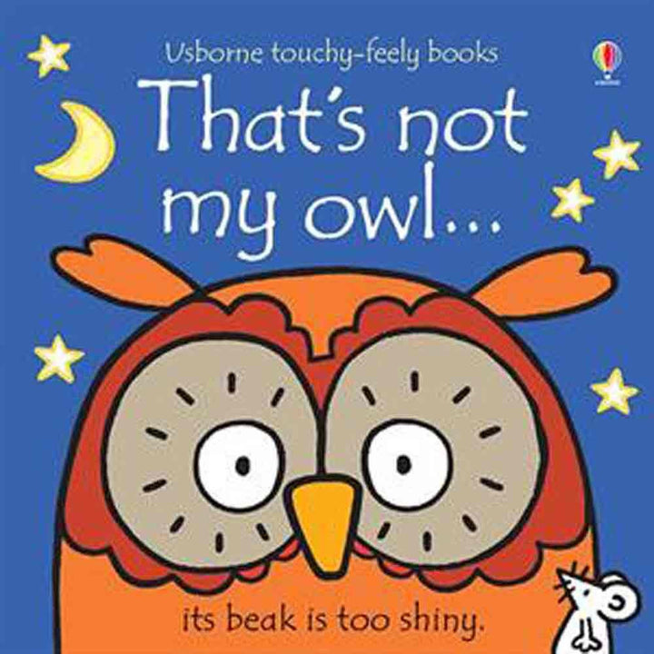 That's Not My Owl Touchy Feely Board Book