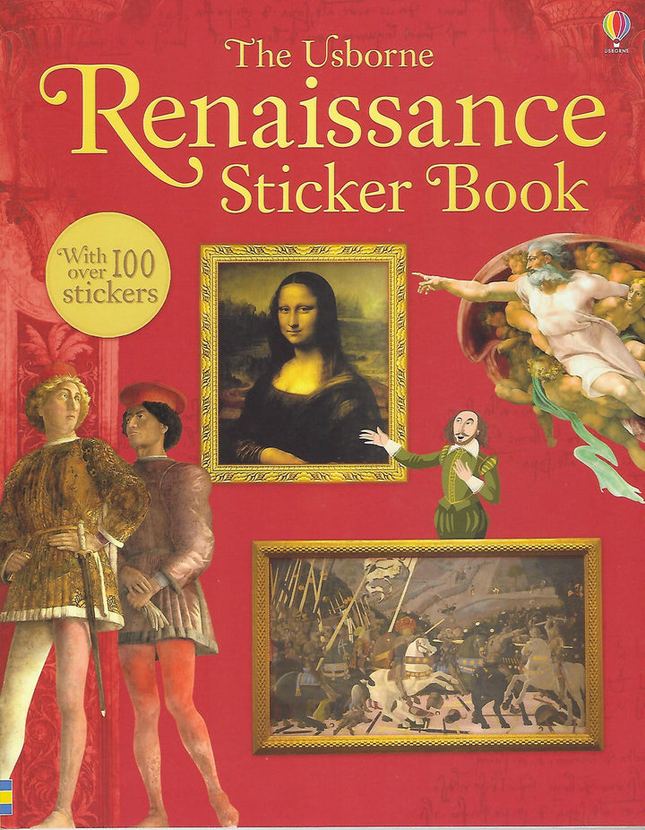 Renaissance Sticker Book Paperback