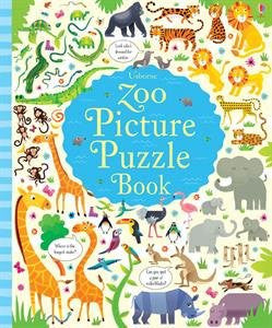 Zoo Picture Puzzle Book Board book 2016