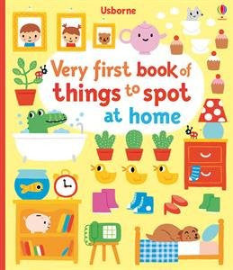 Very First book of Things to Spot at Home Hardcover 2015