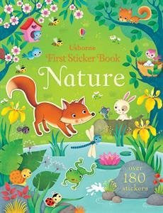 First Sticker Book Nature Paperback