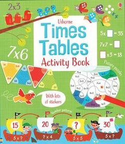 Usbourne Times Tables Activity Book Paperback