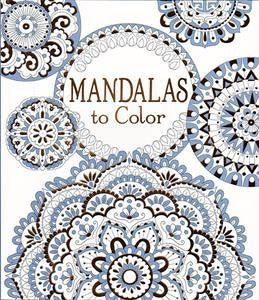 Mandalas to Color Paperback Coloring Book