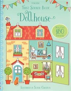 Dollhouse First Sticker Book Paperback