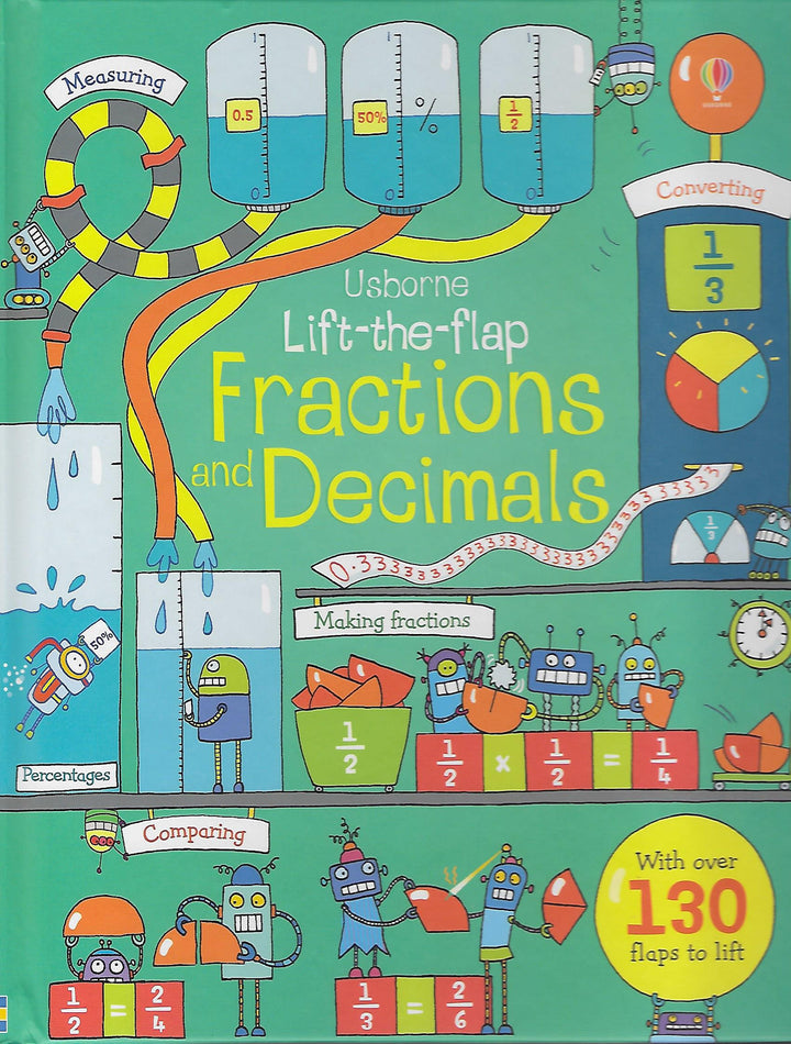 Fractions and Decimals Lift the Flap Board Book