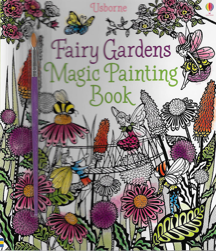 Fairy Gardens Magic Painting Book Paperback