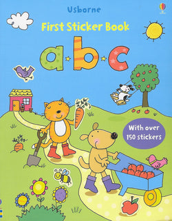 ABC First Sticker Book