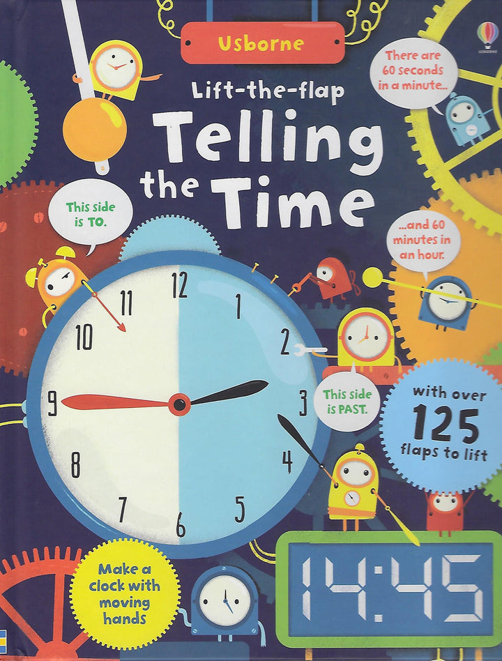 Telling the Time Lift the Flap Board Book