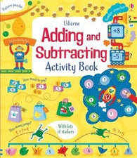 Usbourne Adding and Subtracting Activity Book Paperback