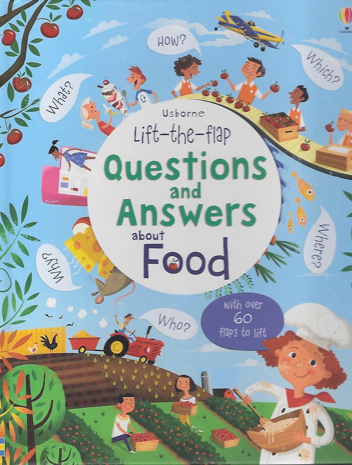 Questions & Answers Food Board Book