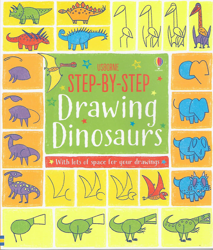 Step By Step Drawing Dinosaurs Paperback
