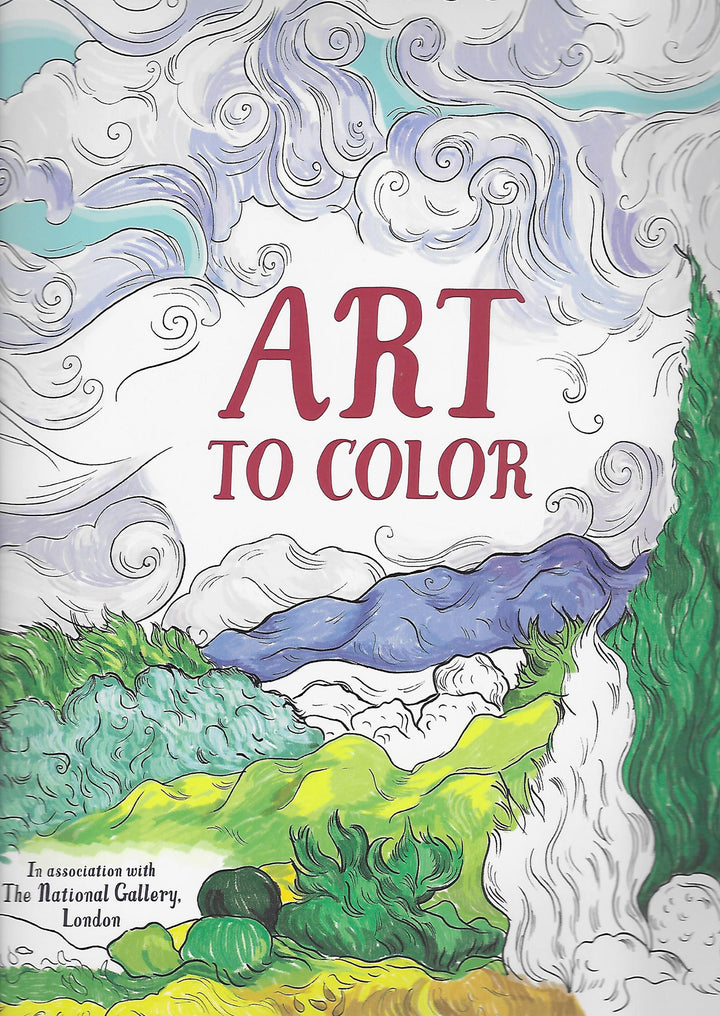 Art to Color Paperback