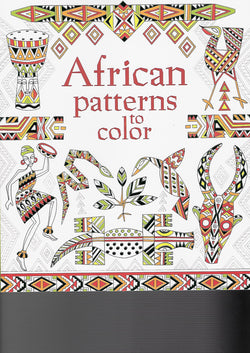 African Patterns to Color