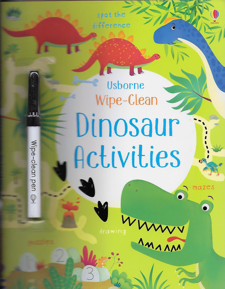 Dinosaur Activities Wipe Clean Paperback