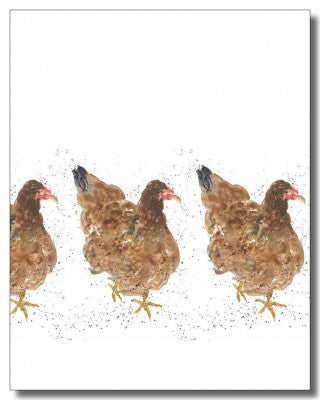 Boxed Notecards-Chickens