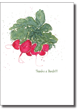 Boxed Cards- Radishes