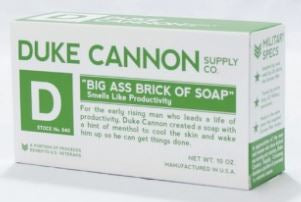 Big Ass Brick of White Soap Bar-Smells Like Productivity