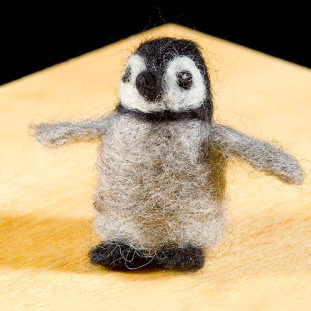WoolPets Felting Penguin Kit