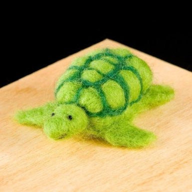 WoolPets Felting Turtle Kit