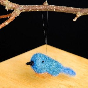 Bluebird Wool Needle Felting Craft Kit by WoolPets