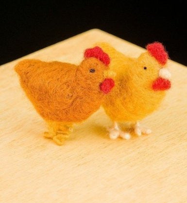 WoolPets Felting Chicken Kit