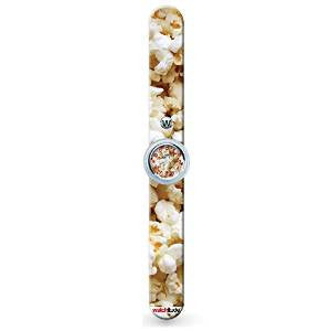 Watchitude Slap Watch-Popcorn
