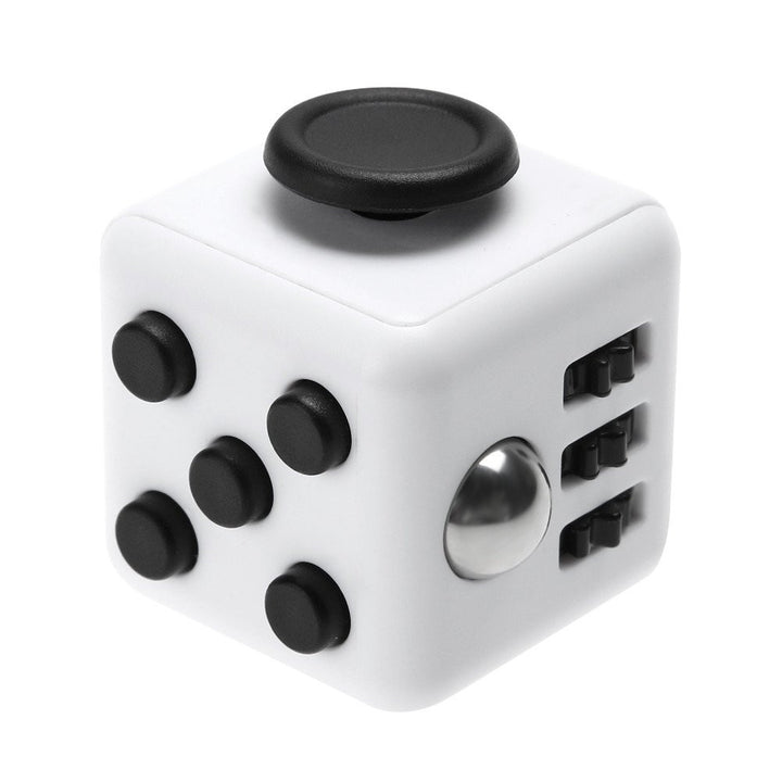 Fidget Cube- White Black