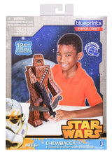 "12"" Chewbacca Papercraft Action Figure Packaging"