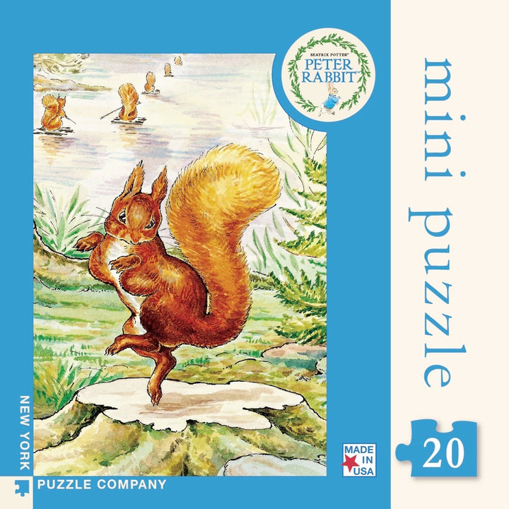 New York Puzzle Company - Squirrel Nutkin Mini Puzzle