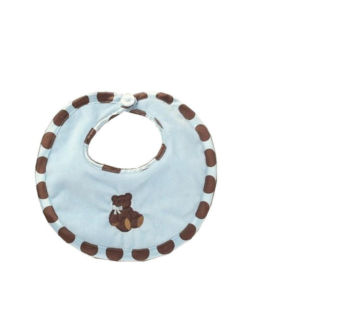 Posh Dots Bib (Blue)