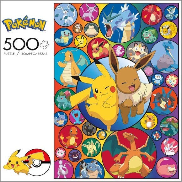 Pokemon Bubble Pokemon 500 pc Puzzle