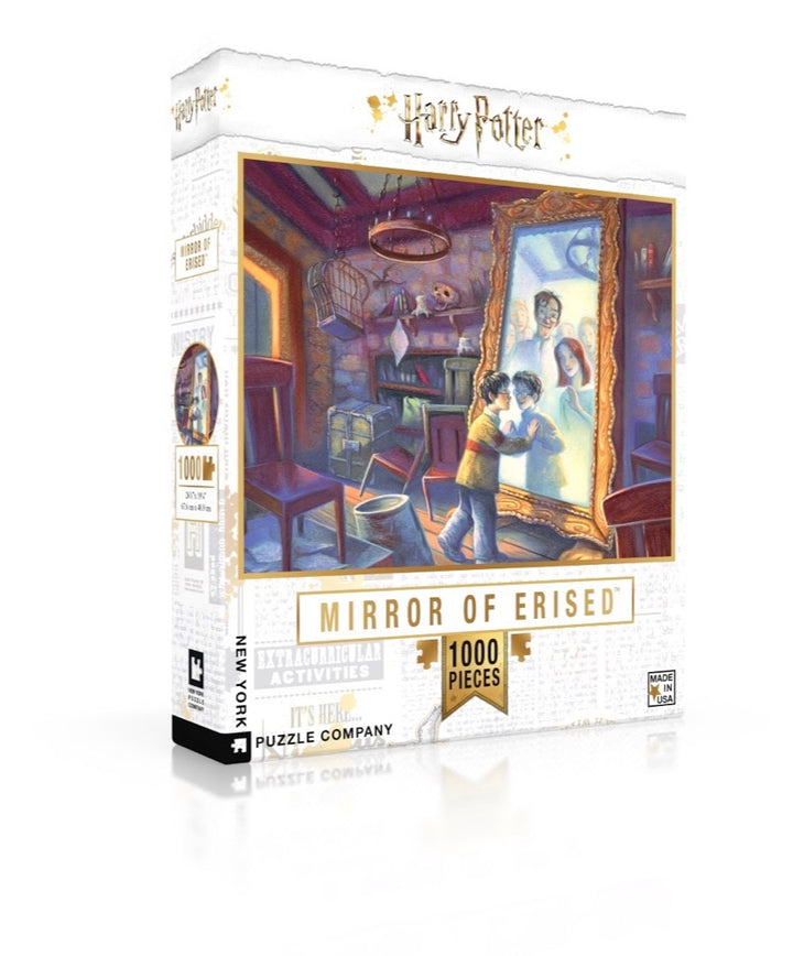 New York Puzzle Company - Mirror Of Erised Puzzle