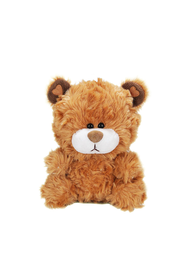 "Plushland - Bear Collection--6"" Brown Qbeba Bear"