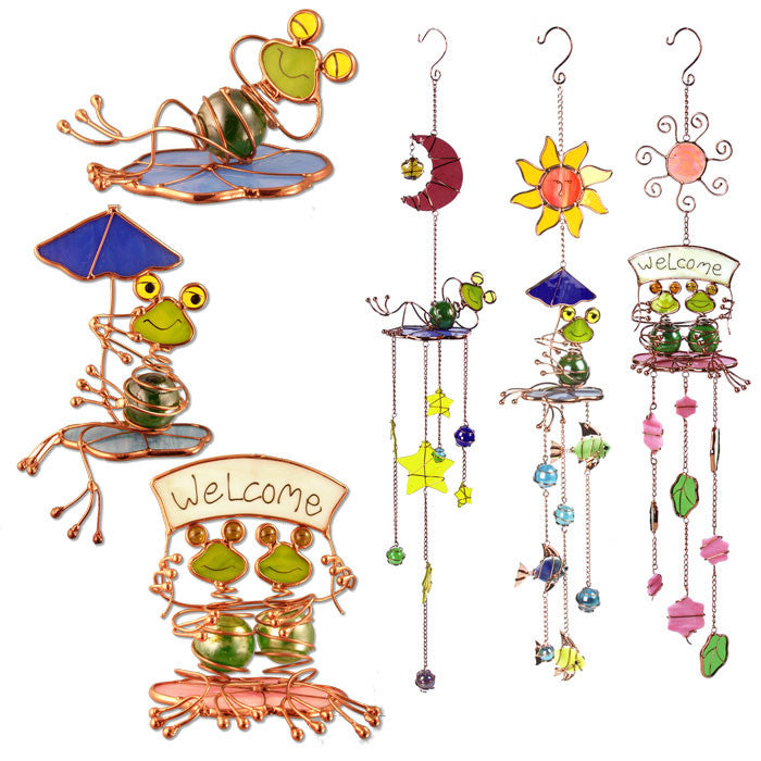 Frog Sun Catchers, Set of 3