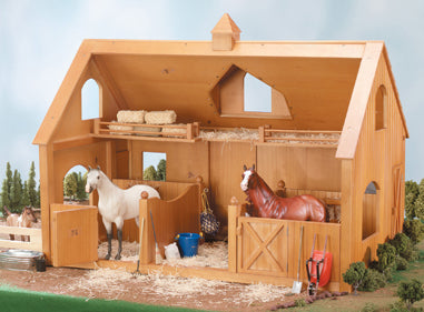 Breyer Horses Deluxe Wood Barn