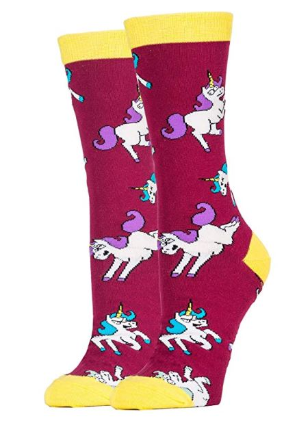 Unicorn War Women's Crew Socks