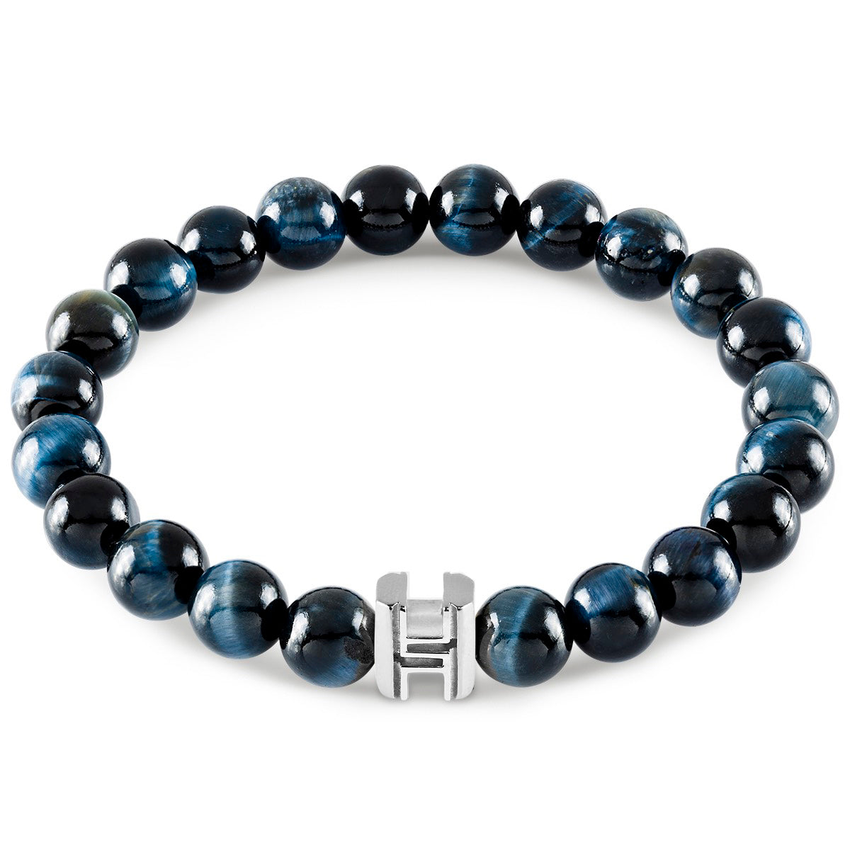 The Signature Blue Tiger Eye Bracelet