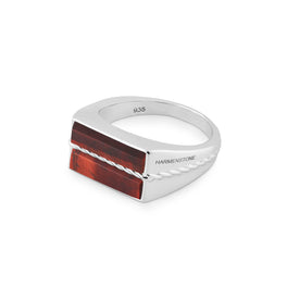 The Classic Ring | Red Tiger Eye