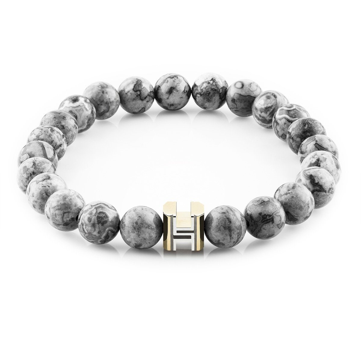 The Signature | Silver Lace Agate