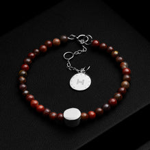 The Dinaro | Red Jasper
