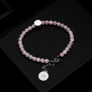 The Dinaro | Rose Quartz