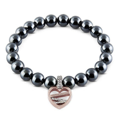 The Heart Tag | Hematite