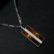 The Stamos Necklace | Original Tiger Eye
