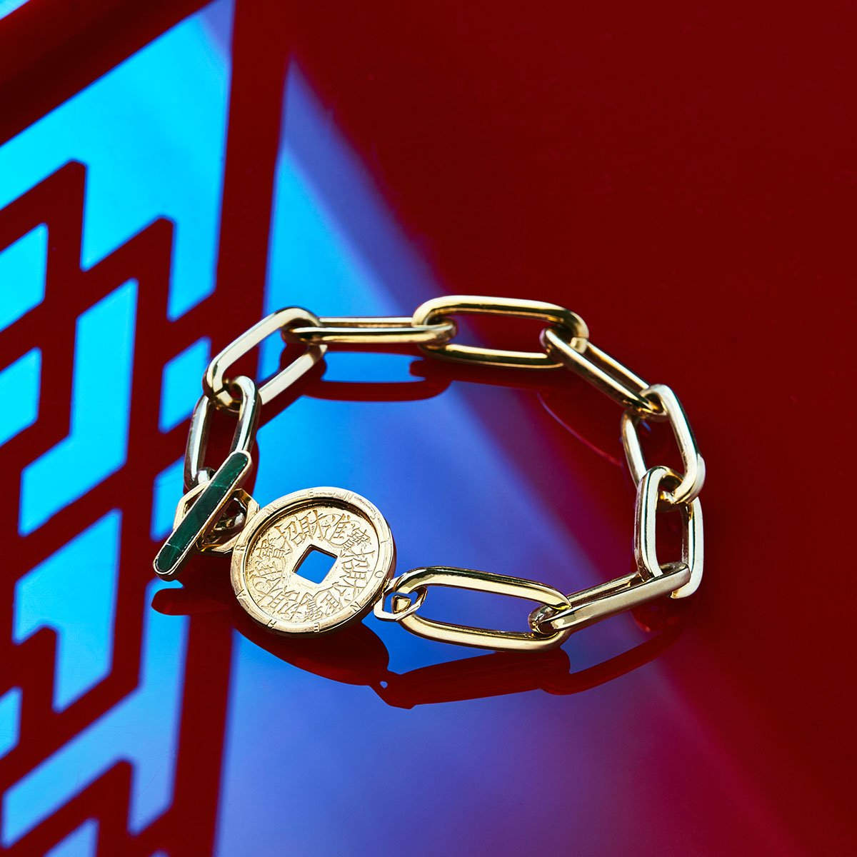 The Fortune Coin Bracelet