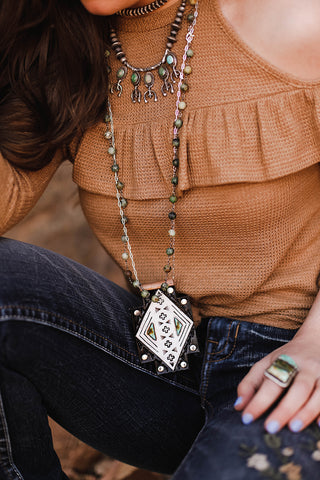 Crossed Paths Necklace