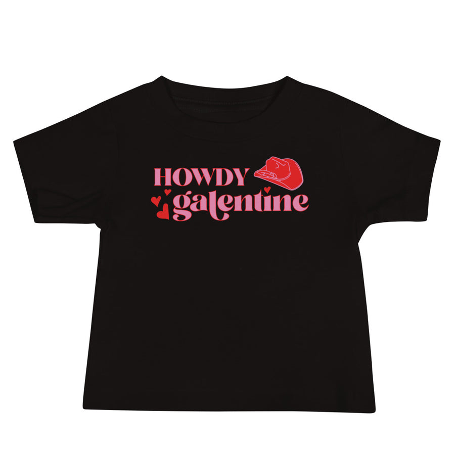Howdy Galentine Baby Tee