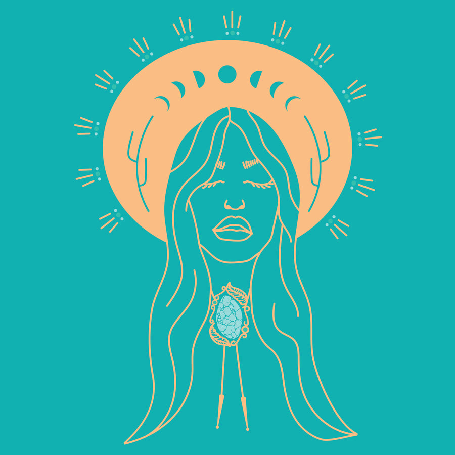Desert Angel - Teal