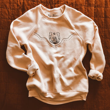 Good Fortune Gal Raglan Sweatshirt